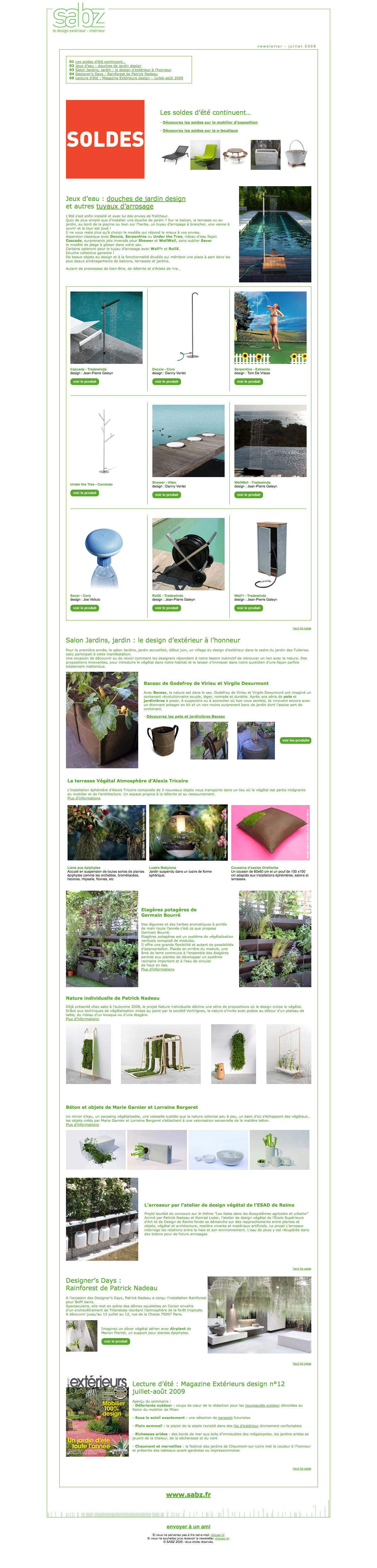 Festival Des Jardins Chaumont Sur Loire 2009 sabz newsletters | portfolio sophie granger